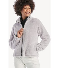 sanctuary women's reena zip up jacket in color: lilac size xs from sole society