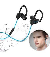 audífonos bluetooth, 56s deportes in-ear auricular audifonos bluetooth manos libres  inalámbrico auriculares estéreo earbuds auriculares con micrófono para iphone 6 teléfono samsung (azul)
