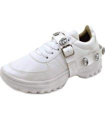 tãªnis menina de marte dad sneaker branco - branco - feminino - dafiti
