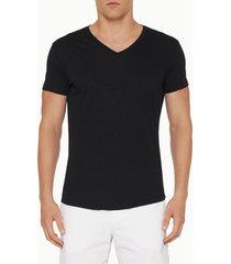orlebar brown men's v-neck t-shirt - black - xl
