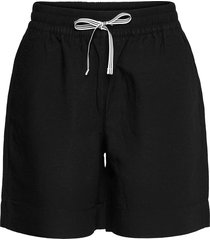 d2. summer linen shorts shorts flowy shorts/casual shorts svart gant