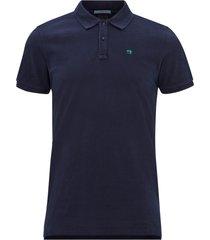 t-shirt classic garment-dyed pique polo