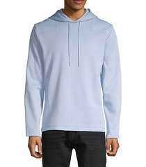 fishtail hem hoodie