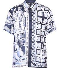 overhemd met print