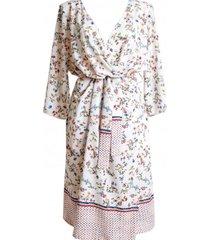 sukienka kopertowa kimono