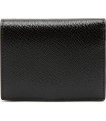 furla women's small compact wallet - black