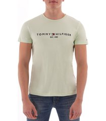tommy hilfiger logo t-shirt - spray  mw0mw11465