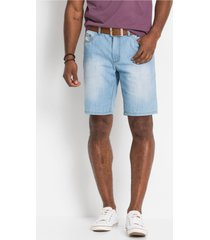 jeans bermuda van zomerdenim, regular fit