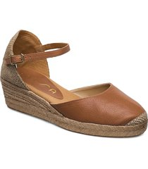 cisca_20_sty sandaletter expadrilles låga brun unisa