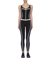 'corset' performance bodysuit