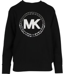 michael kors chain mk logo sweatshirt