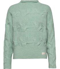 spun dreams sweater gebreide trui groen odd molly
