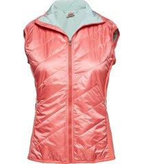 eva vest vests padded vests roze kari traa