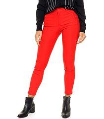 pantalón rojo odas legging