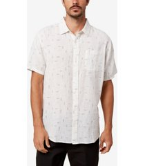 men's fish tales button-up shirt