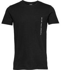 t-rubin-pocket-j1 t-shirt t-shirts short-sleeved svart diesel men