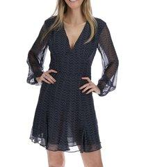 vestido corto valencia azul rockford
