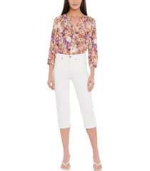 nydj compression cropped jeans