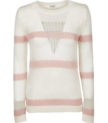 miu miu cut-out detail sweater