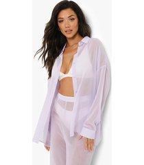 chiffon strand blouse, lilac