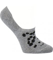 calcetín algodón dalmata gris mujer hush puppies