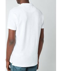 orlebar brown men's terry t-shirt - white - xl
