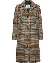 mavi wool coat yllerock rock brun mos mosh