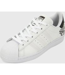 tenis lifestyle blanco adidas originals superstar j