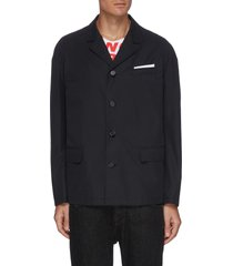 unlined architect jacket