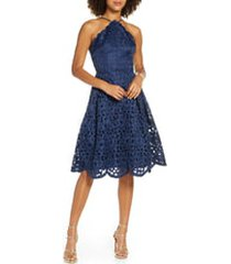 women's chi chi london claudetta fit & flare lace dress