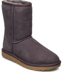 w classic short ii shoes boots ankle boots ankle boot - flat grå ugg