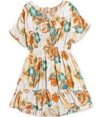 roxy summer still printed mini dress