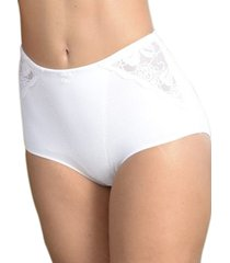panty clásico con control blanco ref 1137  soutien