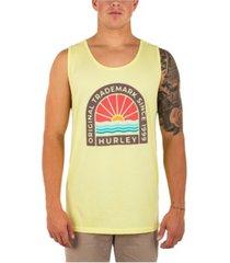 hurley men's every day washed horisun tank t-shirt