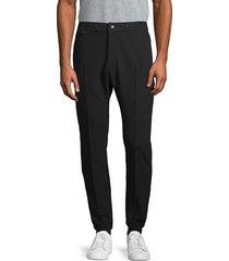 john varvatos men's tailored cotton-blend pants - black - size 30