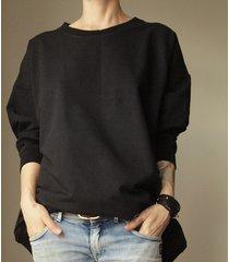 bluza mega czarna