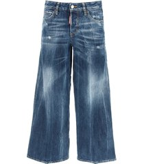 dsquared2 mid-waist page jeans