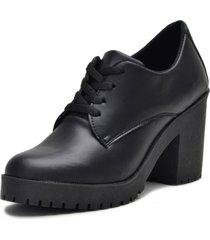bota coturno clube do sapato de franca montividéu preto - kanui