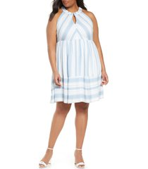 plus size women's gibson x the motherchic newport stripe dress
