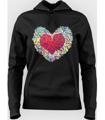 bluza colorful heart