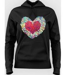 bluza colorful heart