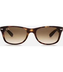 ray-ban men's new wayfarer sunglasses - light havana