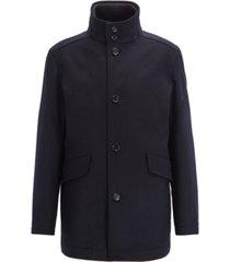 boss men's coxtan funnel-neck car coat