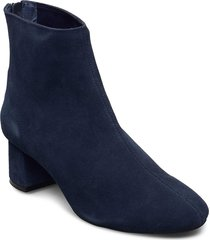 high heel ankle boot shoes boots ankle boots ankle boot - heel blå ilse jacobsen