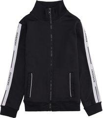 givenchy techno fabric full-zip sweatshirt
