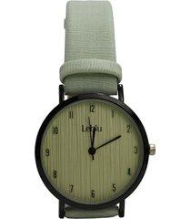 reloj verde leblu