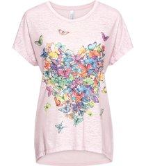 maglia con farfalle (rosa) - rainbow