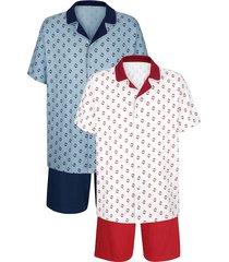 pyjamas roger kent bordeaux::marinblå