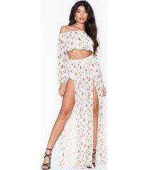 nly one mesh print skirt maxikjolar