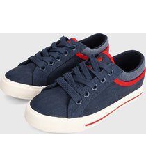 tenis azul navy-rojo-blanco royal county of berkshire polo club kids